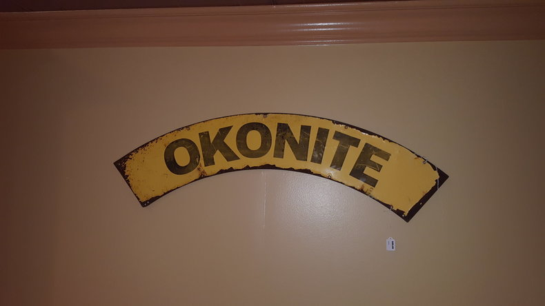 Okonite Wires Sign