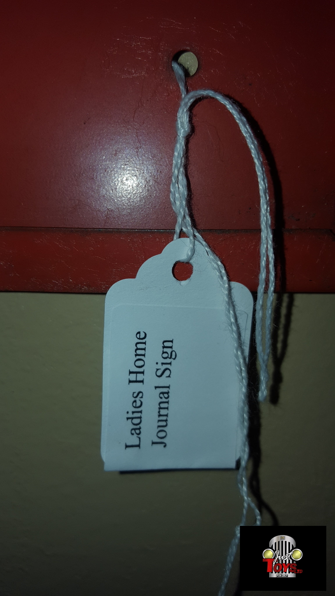 Ladies Home Journal Sign
