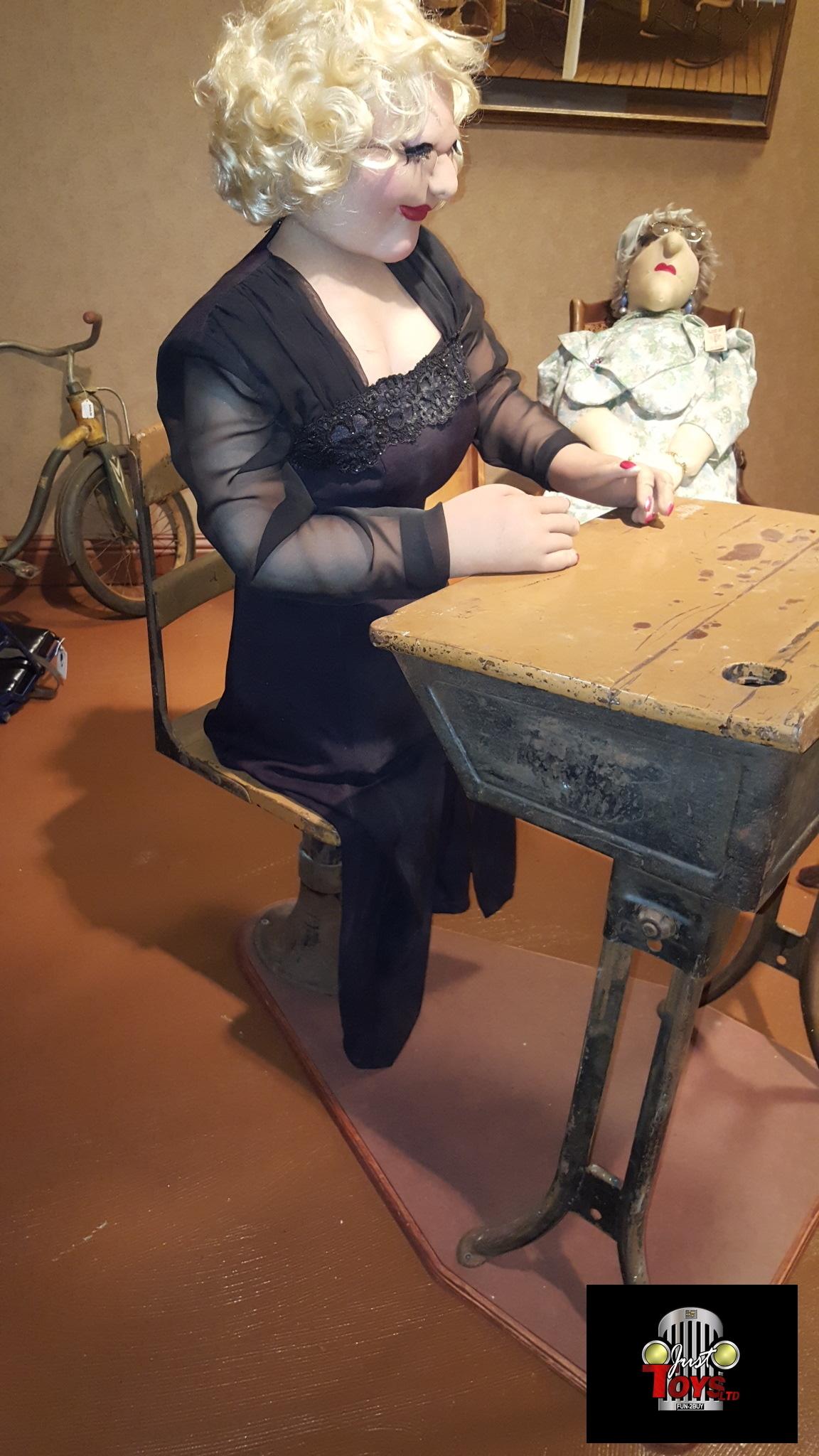 Old School Wood Desk