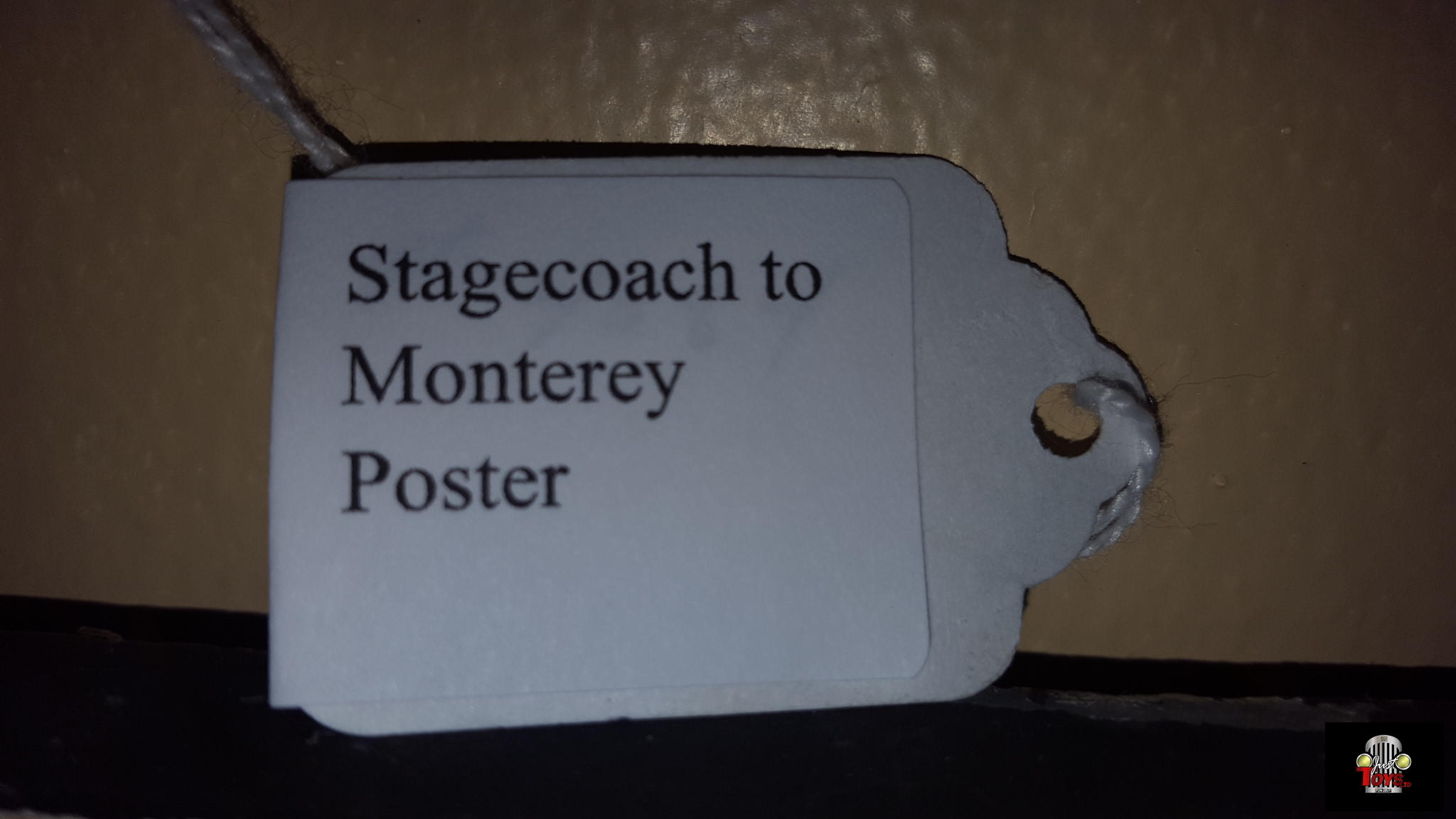 Stagecoach to Monterey Poster
