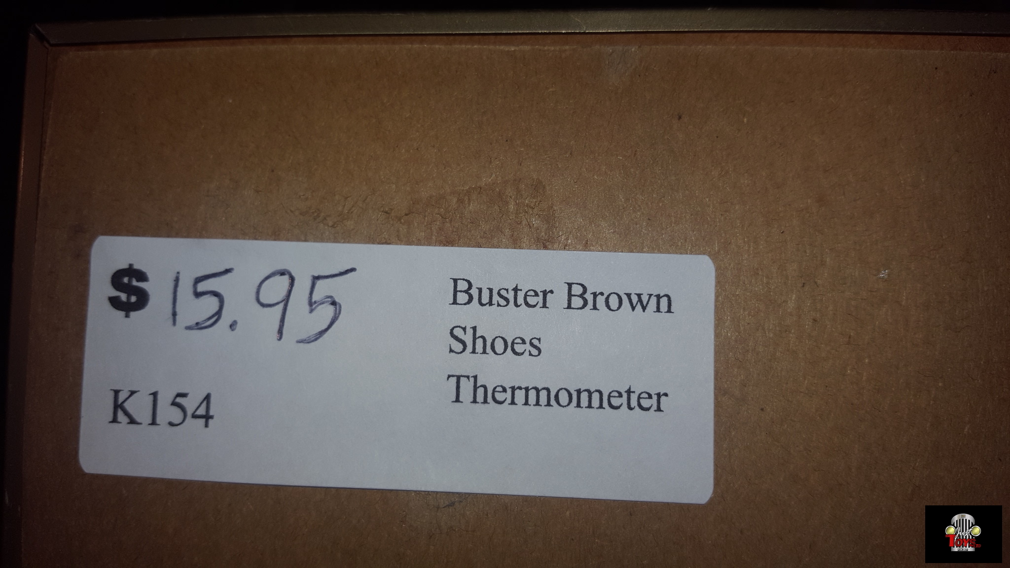 Buster Brown Shoes Thermometer