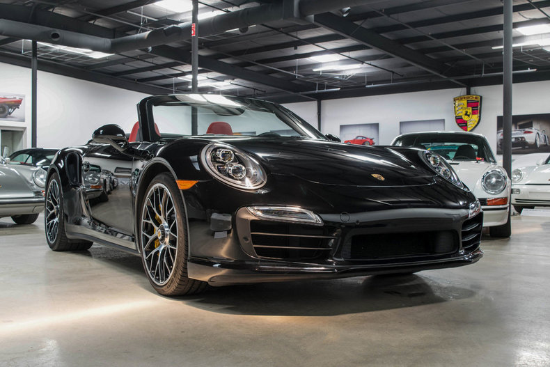 2015 2015 Porsche 991 Turbo S Cab For Sale