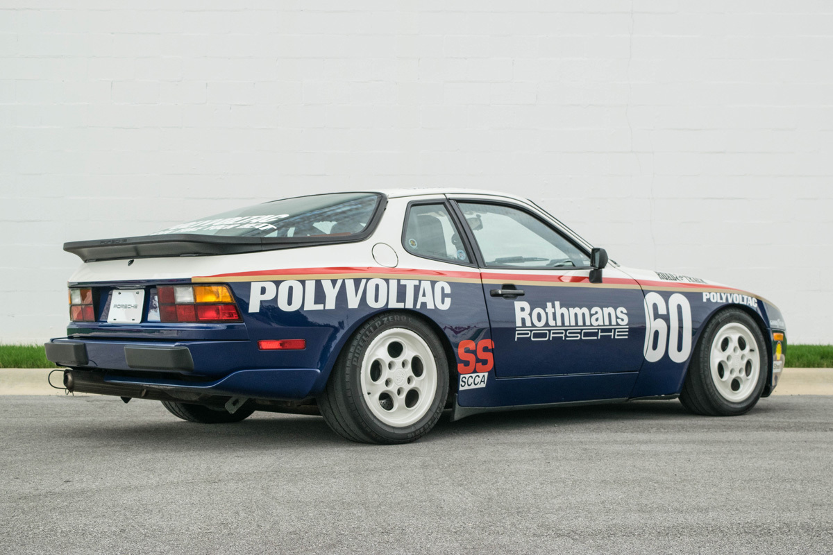 1987 Porsche 944 Turbo Cup Trissl Sports Cars Classic