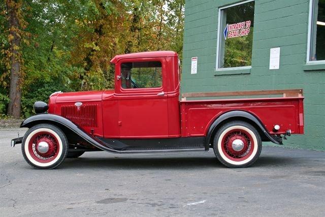 1934 Ford Pickup Vanguard Motor Sales