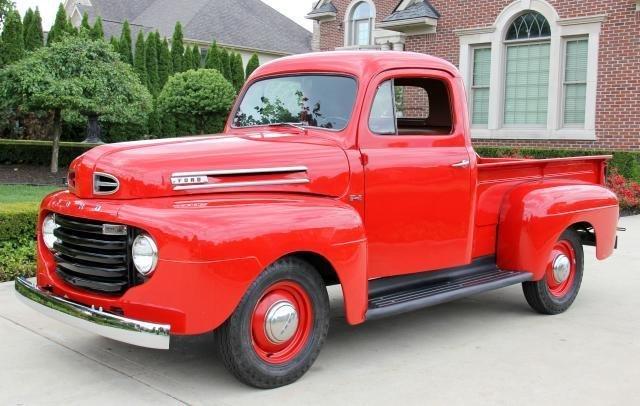 1950 Ford F 150 Vanguard Motor Sales