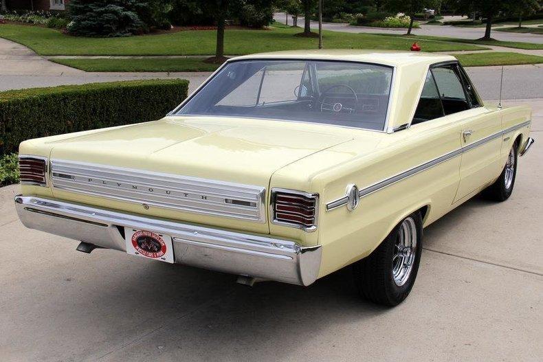 1966 Plymouth Belvedere Vanguard Motor Sales