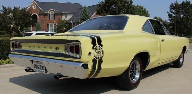 1968 dodge super bee vanguard motor sales for Vanguard motor sales inventory