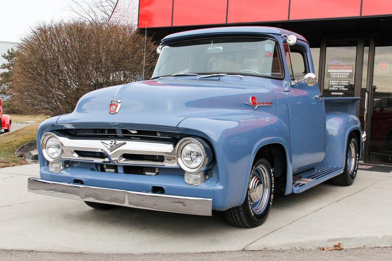 1956 Ford F100 Http Www Vanguardmotorsales Com