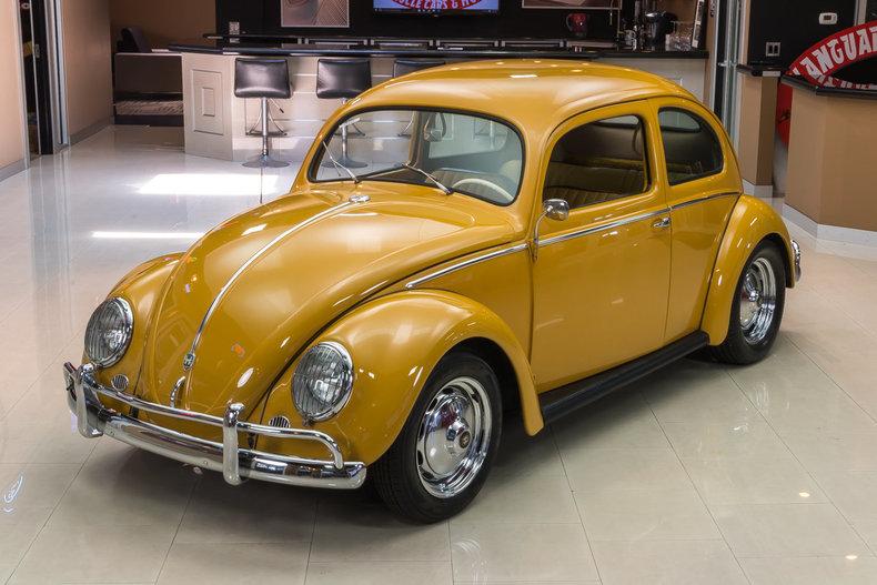 1956 Volkswagen Beetle Classic Cars For Sale Michigan