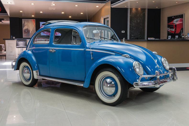 1960 volkswagen beetle classic rag top for Vanguard motor sales inventory