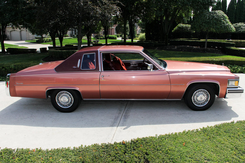 1978 Cadillac Coupe Deville Vanguard Motor Sales