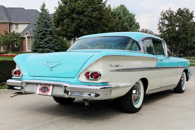 1958 Chevrolet Bel Air Http Www Vanguardmotorsales Com