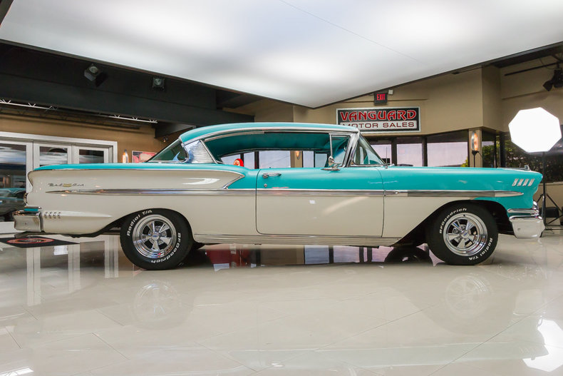 1958 Chevrolet Bel Air Information Specifications