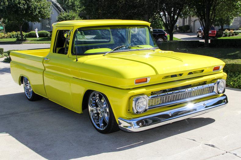 1963 Chevrolet C10 Vanguard Motor Sales