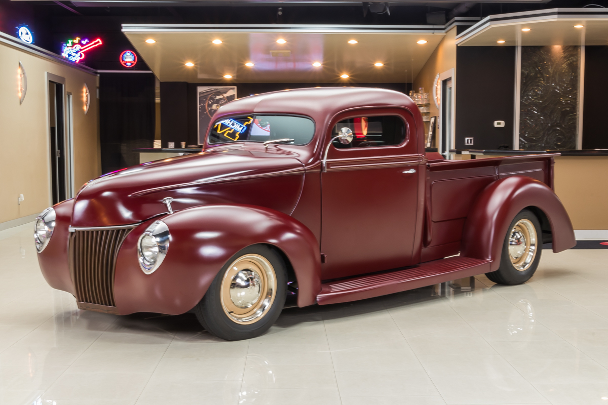 1940 ford pickup classic cars for sale michigan antique muscle car auto sales buy old cars. Black Bedroom Furniture Sets. Home Design Ideas