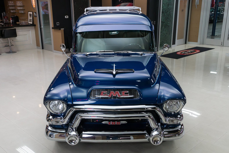 1955 gmc suburban classic cars for sale michigan. Black Bedroom Furniture Sets. Home Design Ideas