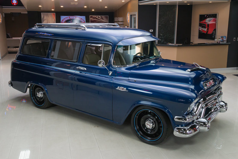 1955 gmc suburban classic cars for sale michigan antique muscle car auto sales buy old. Black Bedroom Furniture Sets. Home Design Ideas
