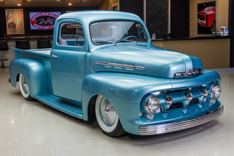 1951 Ford F1 Classic Cars For Sale Michigan Antique