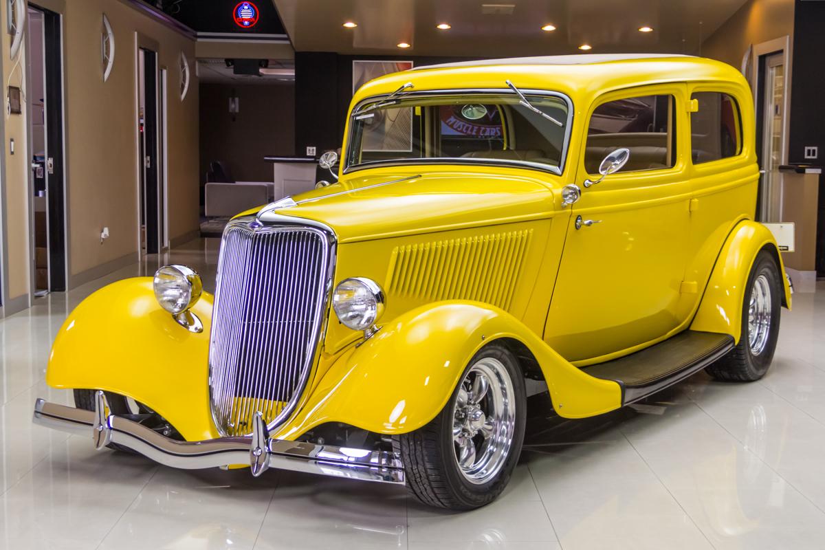 1934 Ford Tudor Vanguard Motor Sales