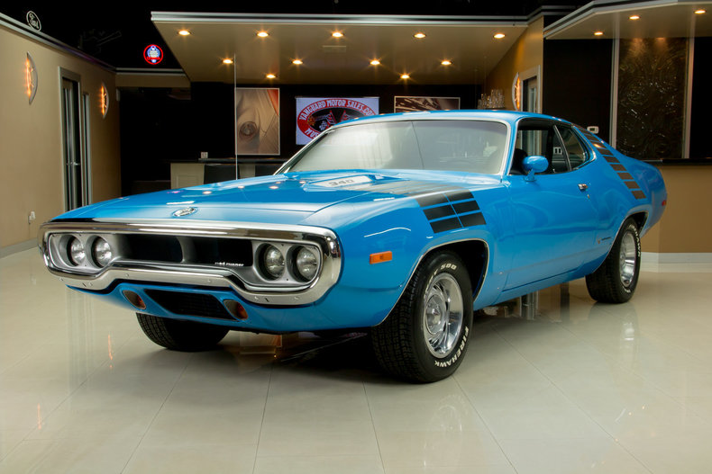 1972 Plymouth Road Runner My Classic Garage