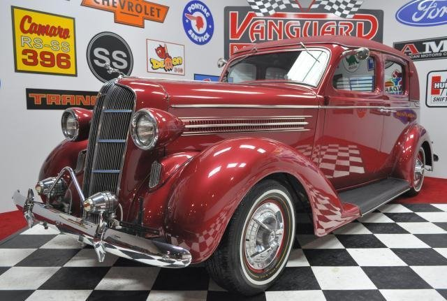 1936 dodge street rod vanguard motor sales for Vanguard motor sales inventory