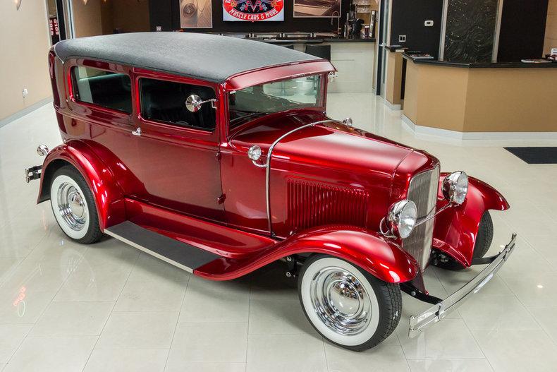 1930 ford model a tudor sedan street rod for Vanguard motor sales inventory