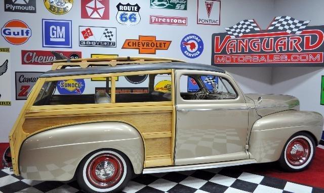 1941 ford woody vanguard motor sales for Vanguard motor sales inventory
