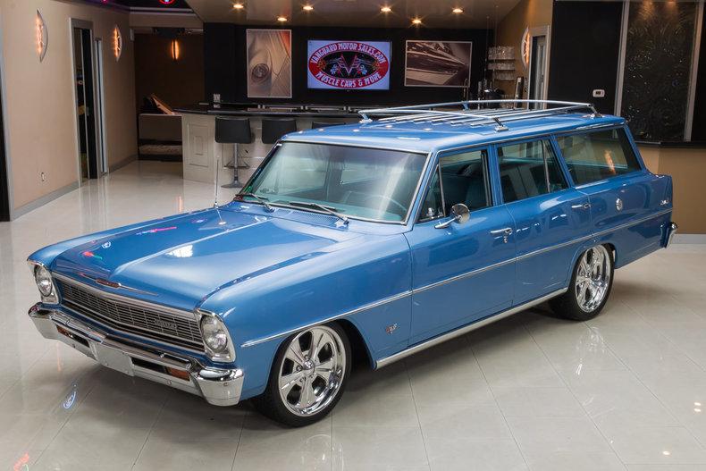 1966 chevrolet nova wagon ebay for Vanguard motor sales inventory
