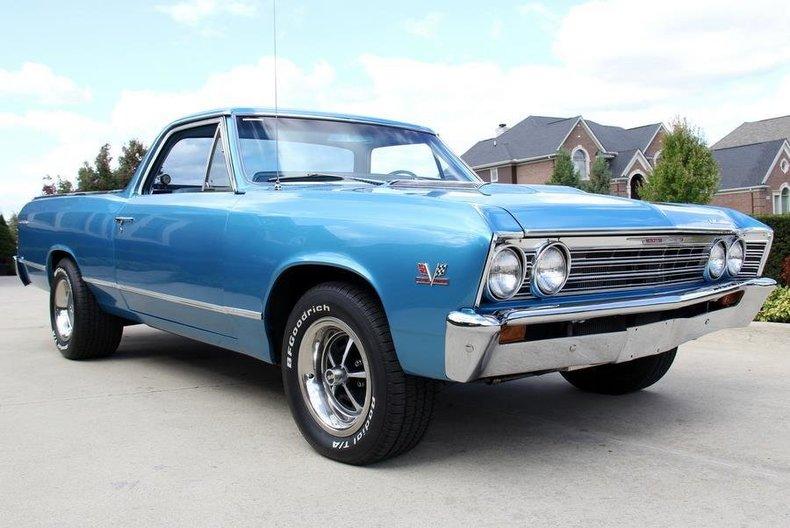 1967 Chevrolet El Camino Http Www Vanguardmotorsales Com