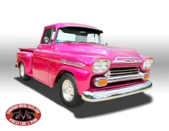 1959 Chevrolet Apache Classic Cars For Sale Michigan Antique