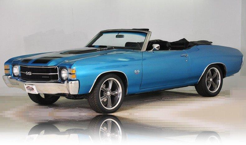 1971 Chevrolet Chevelle Image 104