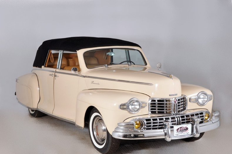 1947 Lincoln Continental Image 83