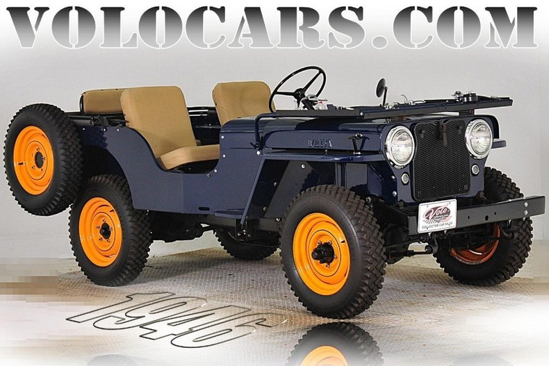 1946 Willys Jeep Image 1
