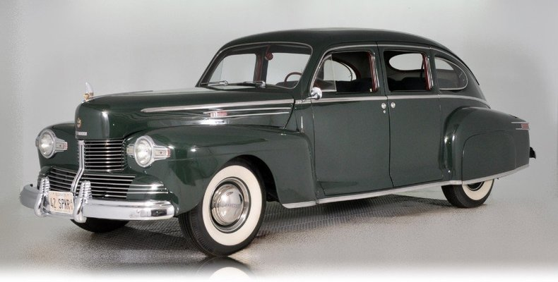 1942 Lincoln Zephyr Image 13