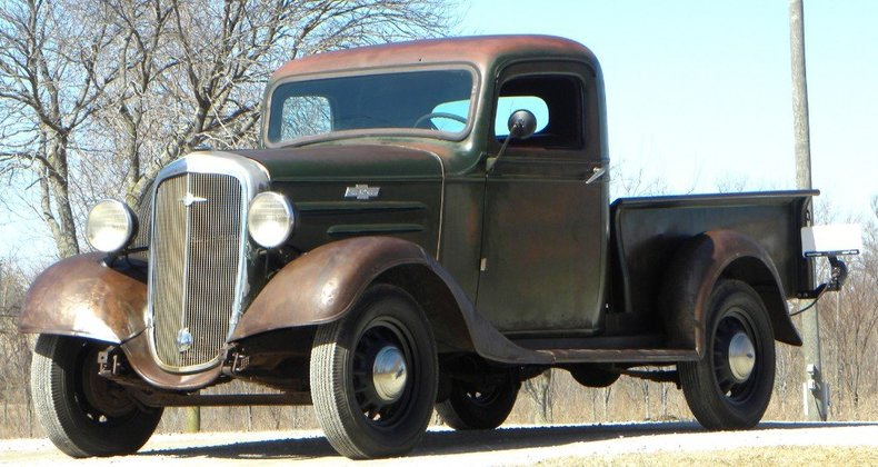1936 Chevrolet Half Ton Image 14