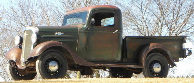 1936 Chevrolet Half Ton