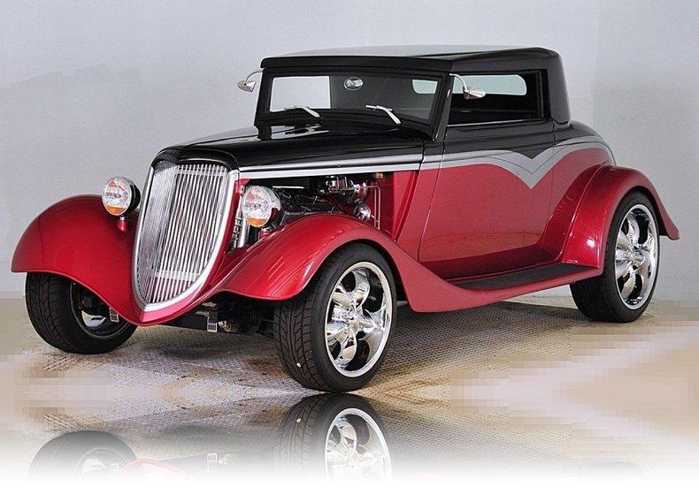 1934 Ford Custom Image 13