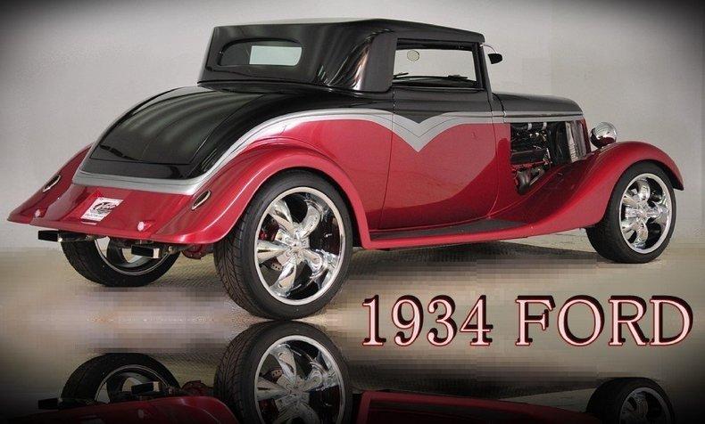 1934 Ford Custom Image 32