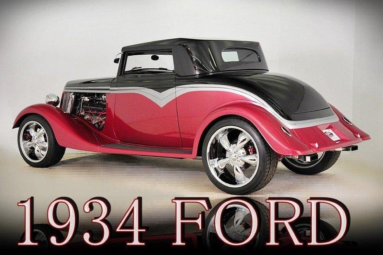 1934 Ford Custom Image 48