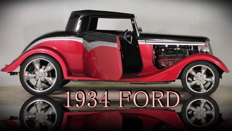 1934 Ford Custom Image 59