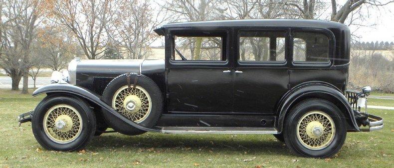 1929 LaSalle 4 Door Image 8