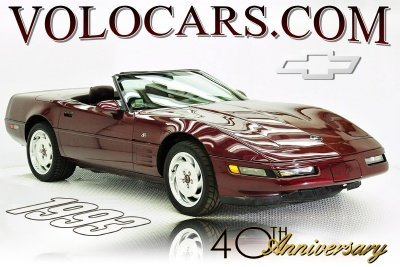 1993 Chevrolet Corvette Image 1