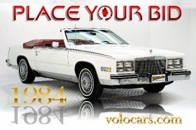1984 Cadillac Eldorado Image 1