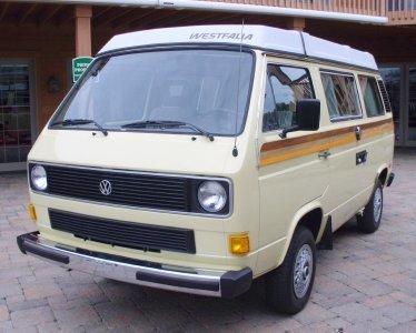 1984 Volkswagen Vanagon Image 1
