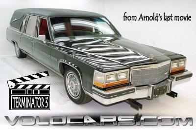 1981 Cadillac Terminator 3 Movie Hearse Image 1