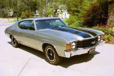1972 Chevrolet Chevelle Ss Image 1