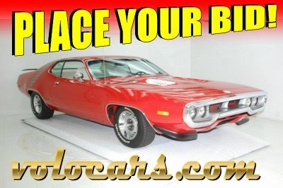1972 Plymouth Road Runner Image 1