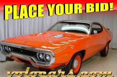 1971 Plymouth Roadrunner Image 1