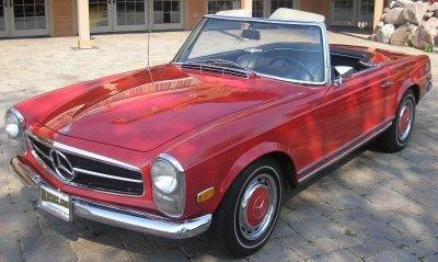 1968 Mercedes-Benz 280 Sl Image 1