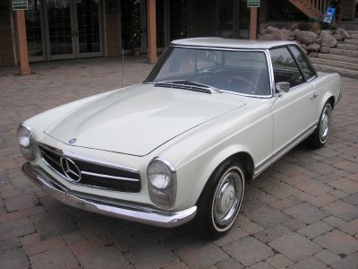 1966 Mercedes-Benz 230 Sl Image 1